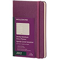 Moleskine 12M 2017 Weekly Hard Cover Notebook