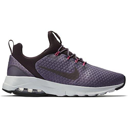 Nike Womens Air Maxo Motion Lw Racer Shoe Dark Raisin / Port Wine-deadly Pink