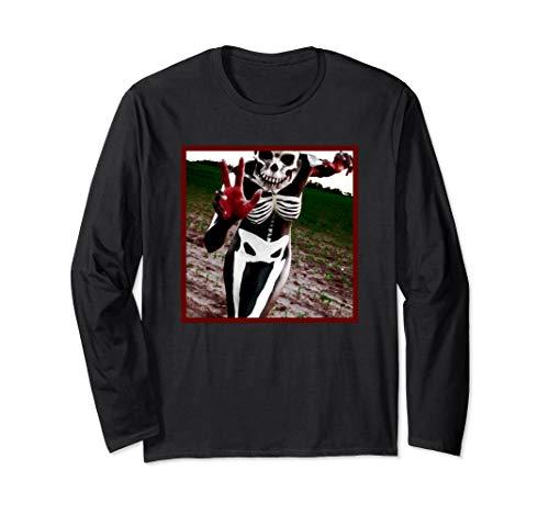 - Slipknot Skeleton Long Sleeve Tee