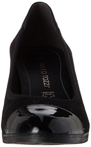 22447 Tozzi Noir Marco Escarpins Str Femme Premio comb Black nAx1xET6