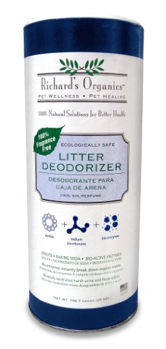 SynergyLabs Richard's Organics Cat Litter Deodorizer; 25 oz. (Clean Cat Litter Deodorizer)
