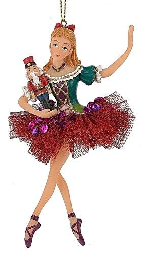 Clara Nutcracker Ballet Shoes Doll Christmas Tree Ornament (Ornament Nutcracker Ballet)