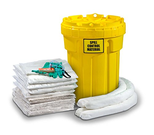 30 Gallon Spill Kit - ESP SK-O30 56 Piece 30 Gallons Oil Only Absorbent Ecofriendly Spill Kit, 24 Gallons Absorbency, White