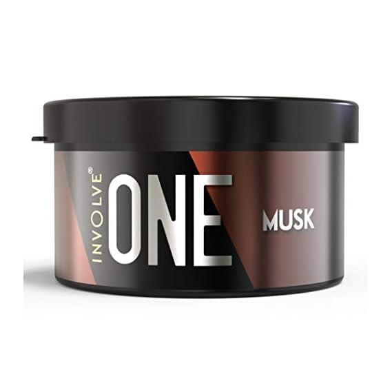 Involve Your Senses ONE Musk Organic Car Perfume, Involve Your Senses Strong Fiber Air Freshener to Freshen'up Your Car