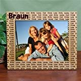 Personalized Family Name Picture Frame