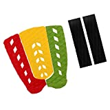 MagiDeal 5Pcs Universal EVA Surfboard Skimboard Traction Tail Pad Deck Grip Stomp Pad for Outdoor Longboard Funboard