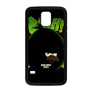 Samsung Galaxy S5 Cell Phone Case Black Angry Birds Space Terence OJ676317