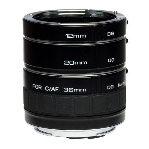 Kenko Auto Extension Tube Set DG for Canon EOS Lenses A-EXTUBEDG-C (Auto Focus Extension compare prices)