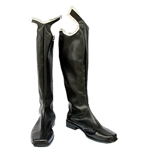Foam Costumes Made Custom (Kingdom Hearts 2 Organization XIII cosplay costume Boots Boot Shoes)