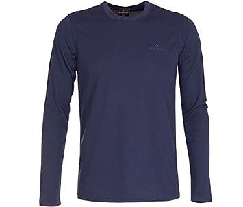 Langarm T-Shirt klassischer Schnitt schnelltrocknend pflegeleicht Bergson Herren Langarm Funktionsshirt Beno Pique-Material