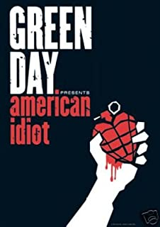 Green Day Poster Group American Idiot - 24x36