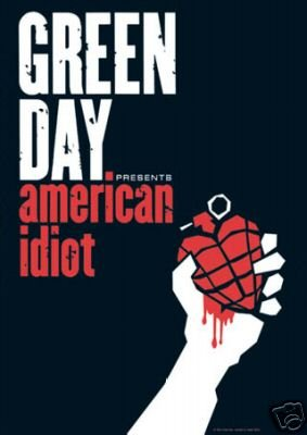 Green Day Poster Group American Idiot