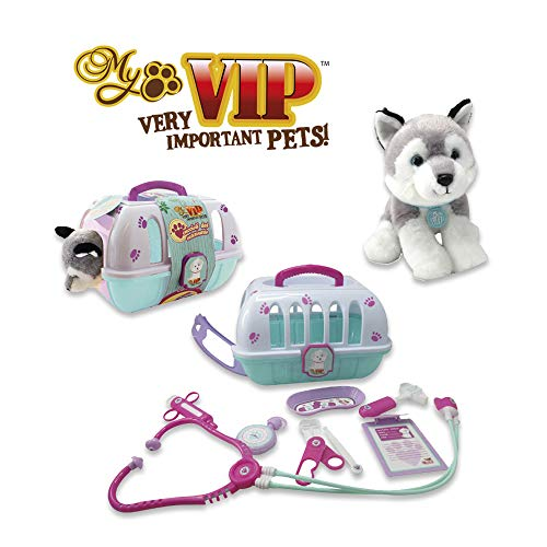 ODS 43531 Soft Toy Puppies White and Grey (Ods R)