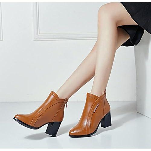 bottes pour femmes avec des bottes épaisses Martin ont