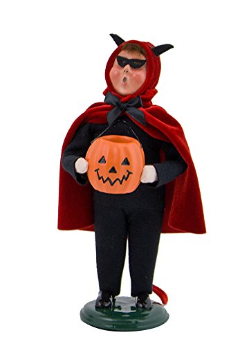 Byers' Choice Devil Caroler Figurine #7173 from The Halloween Collection -
