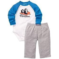 Carter's Baby-boys Pants Set Daddy's Sidekick Bears (2 Piece)