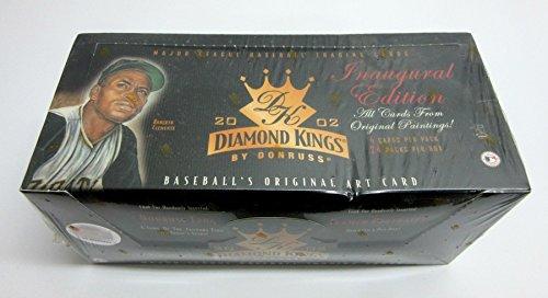 Kings Baseball Diamond Donruss - 2002 Donruss Diamond Kings Baseball Box (Hobby)