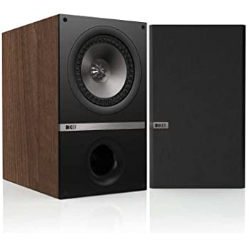 KEF Q300W Bookshelf Loudspeakers - American Walnut (Pair)