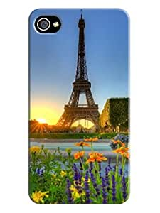 The Best And Newest Hard Case iphone 4/4s For Eiffel Tower Background image LarryToliver #1