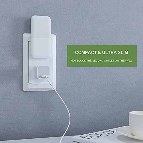 MAZ-TEK Plug in Night Light, Warm White LED Nightlights with Smart Dusk to Dawn Sensor for Kids, Nursery, Ideal for Bedroom, Bathroom,Hallway, Stairs, Kitchen, 4 Pack