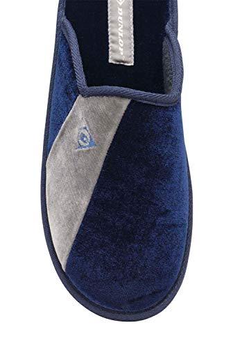 De Destalonada Dmh7134 Oscuro azul Azul Sintético Hombre Dunlop a5Eqww