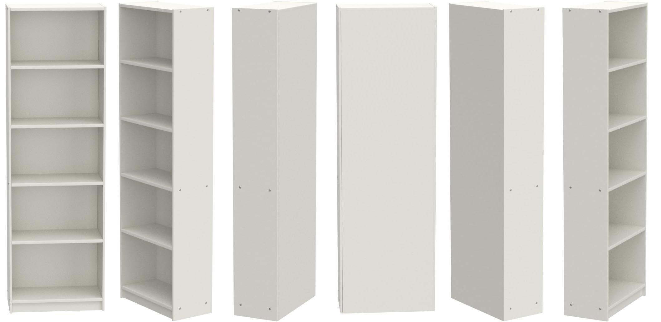 IK IKEA Billy - Librería, Blanco, 80 x 40 x 202 cm: Amazon.es ...
