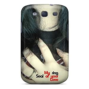 Awesome My Ring Flip Case With Fashion Design For Galaxy S3