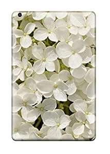 Mary P. Sanders's Shop Hot High Grade Flexible Tpu Case For Ipad Mini 3 - White Flowers