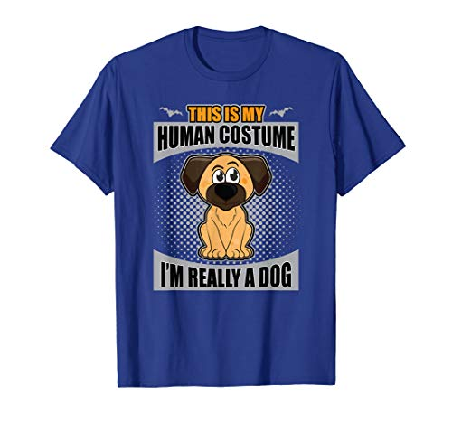This Is My Human Costume I'm Really A Dog Halloween