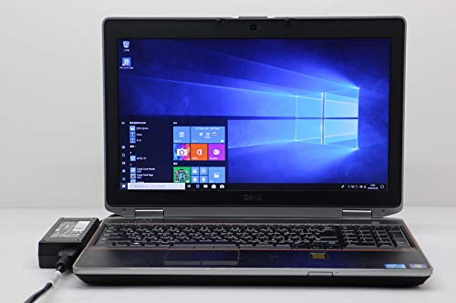 【中古】 DELL Latitude E6520 Core i7 2640M 2.8GHz/4GB/256GB(SSD)/Multi/15.6W/WXGA++(1600x900)/Win10   B07Q49238W