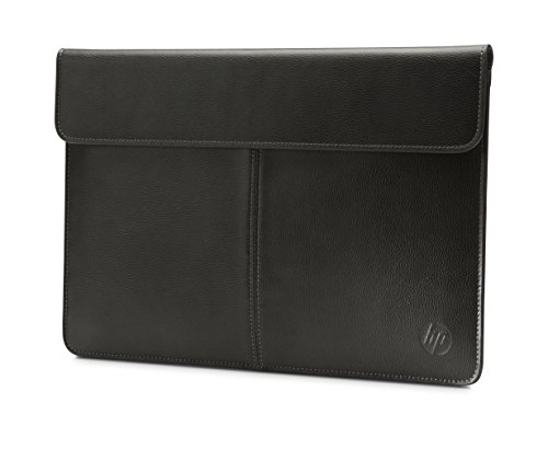HP 13-inch Laptop Leather Sleeve (Black)