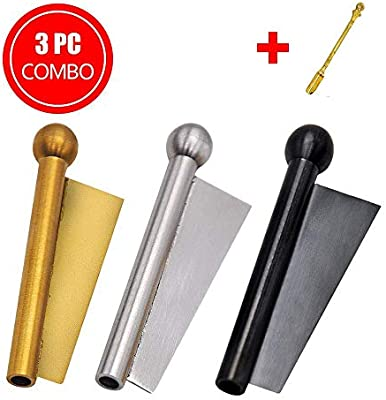 Nasal Vacuum Style, Sniffer Snorter Straw, Pure Stainless Steel Bullet  Snuff Bottle, 3-Pack Mixed Color
