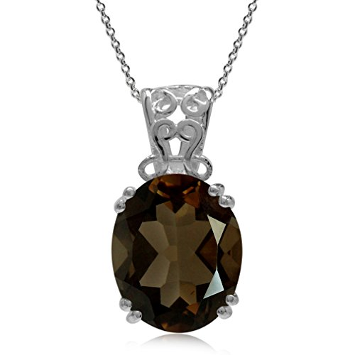 Smoky Quartz Pendant - 2