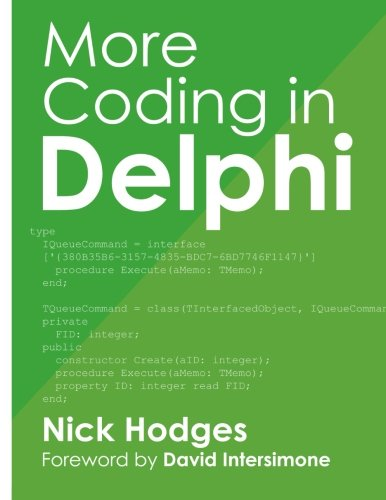 More Coding in Delphi by Nepeta Enterprises