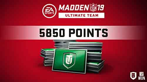 Madden 19 5850 Ultimate Team Points [Online Game Code]