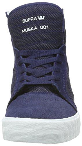 Supra Skytop Medium Sneaker Navy Tweekleurig / Wit