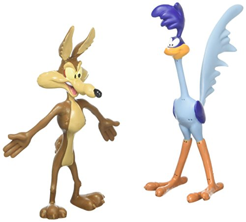 Wile E. Coyote & Road Runner Bendable Pair