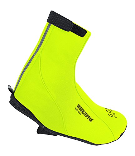 Gore Unisex Road Windstopper Cycling Overshoes US 8 - 10 Neon Yellow