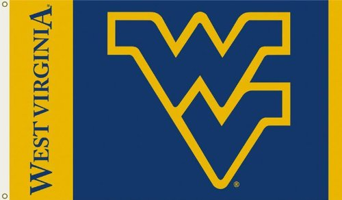 Ncaa West Virginia Mountaineers 3 By 5 Foot Flag With Grommets