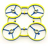 RAGG-e Whoop Frame- Blue/Yellow Color