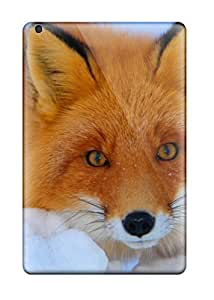 Top Quality Rugged Red Fox In Snow Case Cover For Ipad Mini/mini 2