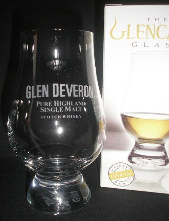 GLEN DEVERON GLENCAIRN SINGLE MALT SCOTCH WHISKY TASTING GLASS
