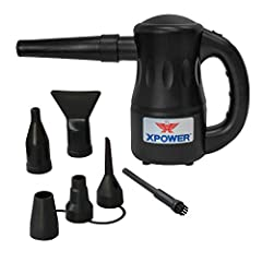 The XPOWER A-2 Airrow Pro Multi-use Electric Duster Blower is a lightweight, compact and incredibly powerful air blower that includes easy-to-use 9 air flow nozzles for endless applications. More than just a replacement for canned air dusters...