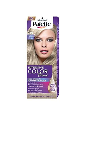 Palette Intensive Color Creme C10 Frosty Silver Blonde Permanent Hair (Hair Color Palette)