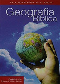 Geografia biblica para estudiantes de la Biblia Geogrfia Biblica