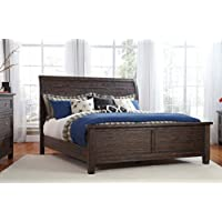 Signature Design by Ashley B658-54 Trudell Panel Footboard, Queen