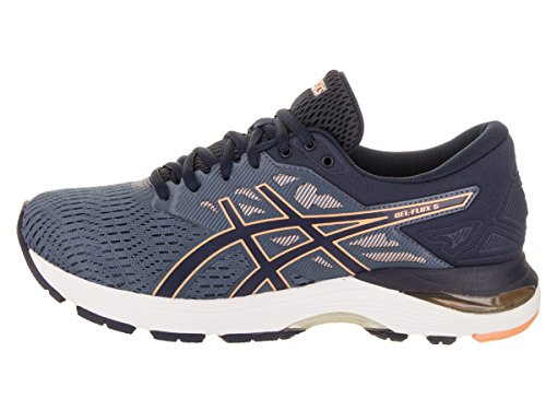Blue Asics Canteloupe Shoes Peacoat Gel 5 Womens Flux XqXx6Z
