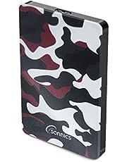 Sonnics 250 GB röd kamouflage extern bärbar hårddisk USB 3.0 supersnabb överföringshastighet för användning med Windows PC, Apple Mac och XBOX 360 Special Edition