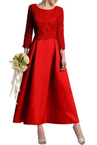 Missdressy - Vestido - trapecio - para mujer Rojo