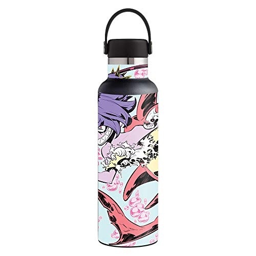 MightySkins Skin Compatible with Hydro Flask 21 oz. Standard Mouth - Evil Mermaid | Protective, Durable, and Unique Vinyl Decal wrap Cover | Easy to Apply, Remove, and Change Styles | Made in The USA]()